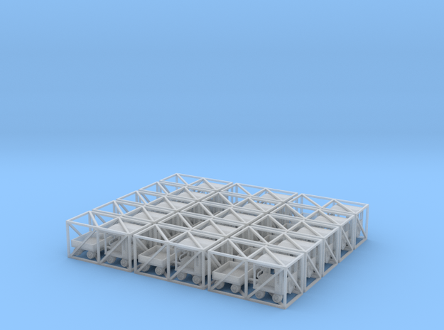 MOW Speeder II Set - Z scale 3d printed
