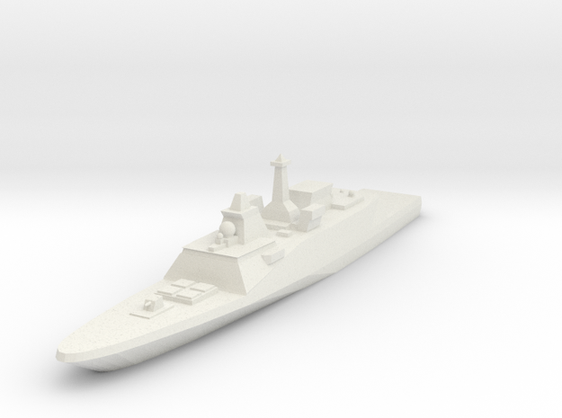 FREMM Frigate 1:2400 in White Strong & Flexible
