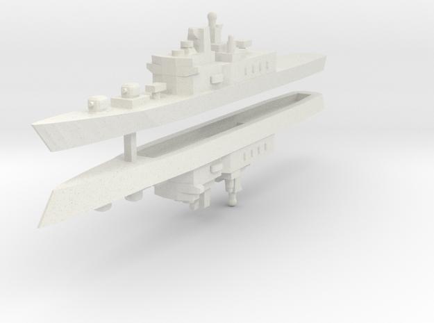 JMSDF Shirane Class DDH-144 1:2400 x2 in White Strong & Flexible
