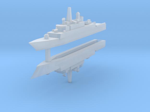 Mowj Frigate 1:2400 x2 3d printed