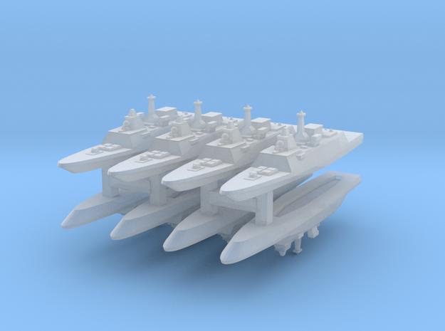 FREMM Frigate 1:6000 x8 3d printed