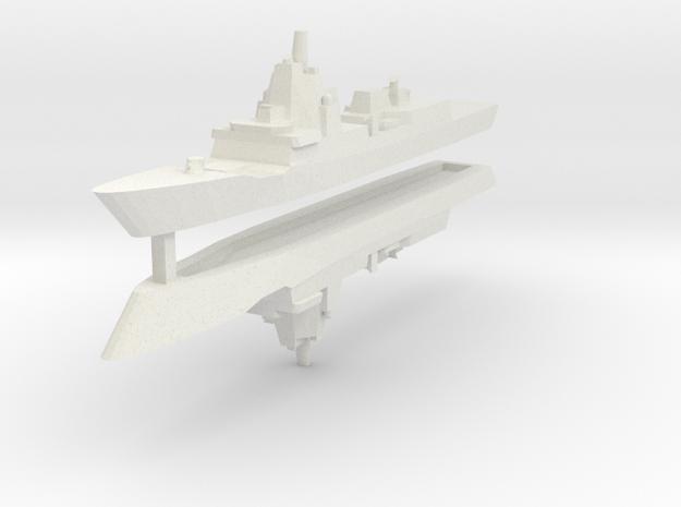 Spanish F-100 1/3000 x2 in White Natural Versatile Plastic