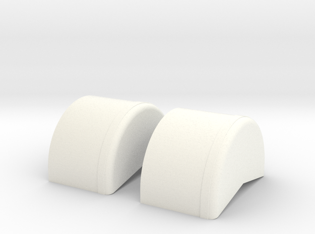 1/16 scale 40 inch Wheel Tubs 3d printed