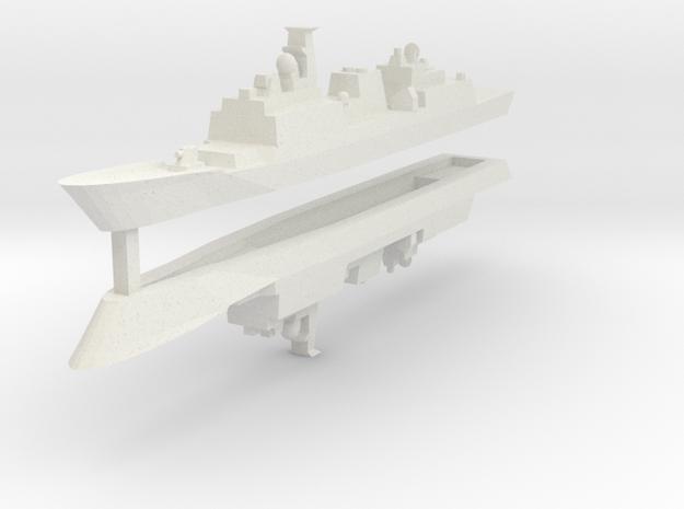 KDX-II 1:3000 x2 in White Natural Versatile Plastic