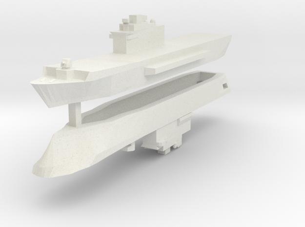 San Giorgio Class 1:3000 x2 in White Natural Versatile Plastic