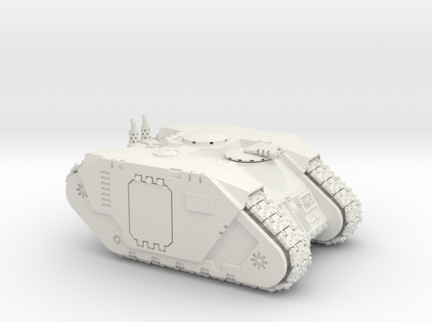 MK IV complete APC in White Strong & Flexible