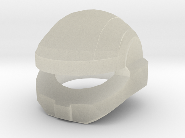 Shock Trooper Helmet Mark-I 3d printed