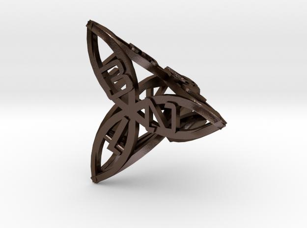 arc dice d4 3d printed