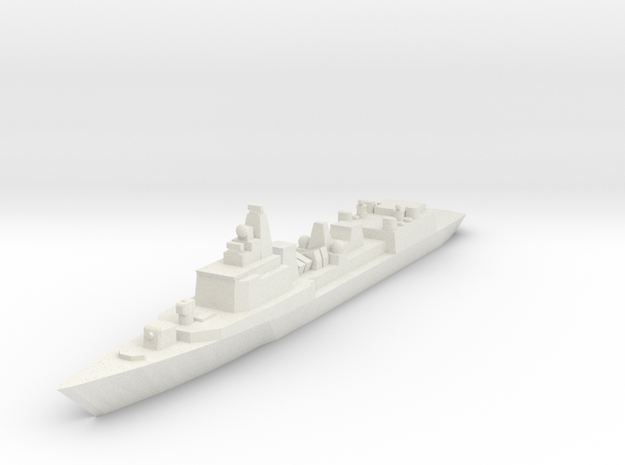 051B PLAN Destroyer 1:2400 x1 3d printed