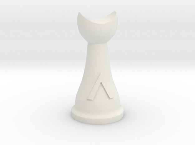 Warlord for Spartan Chess&#153 3d printed