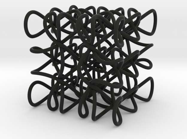 Celtic Knot Cube 3d printed