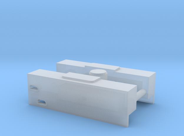 Umbausatz von BR 89 auf BR 80 (Spur Z / 1:220) in Smooth Fine Detail Plastic