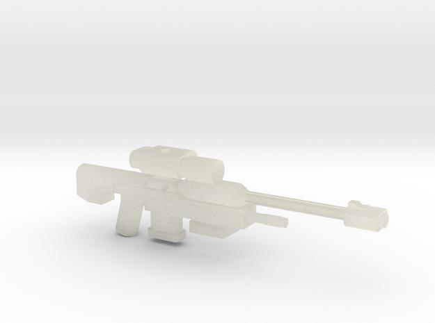 SRS99 D-2 Sniper Rifle 3d printed