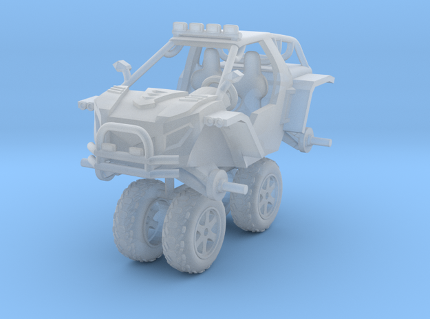 1/87 Scale 4x4 LMS-4 Buggy in Smooth Fine Detail Plastic