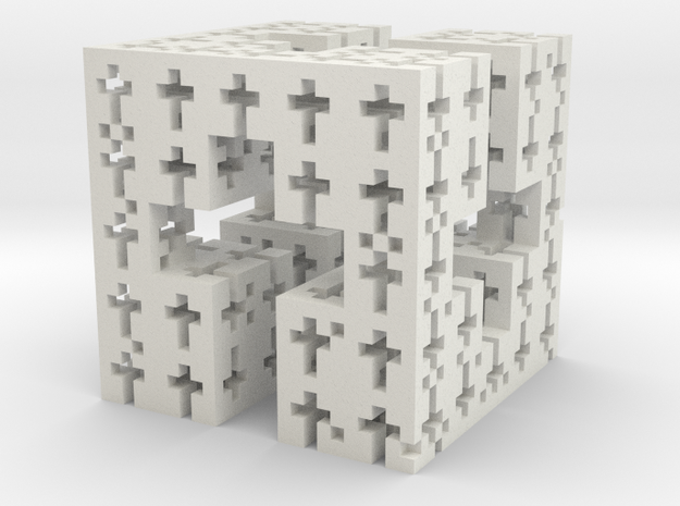 C-Cross Menger in White Natural Versatile Plastic