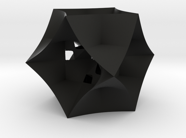 Implicit overlapping triaxial 3d printed