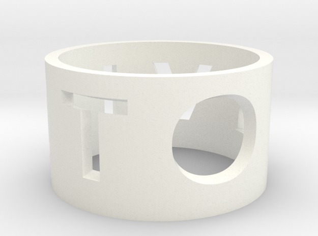 Family Napkin Rings 3d printed