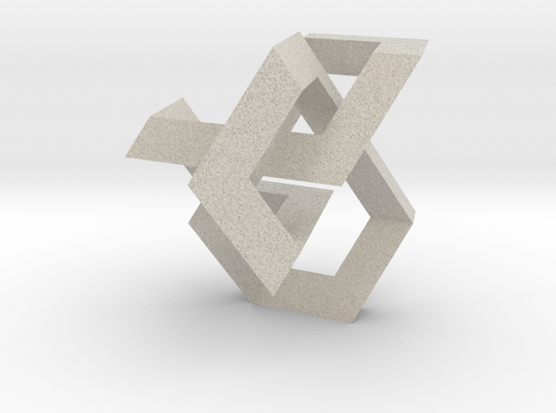 Figure Eight Knot 3d printed