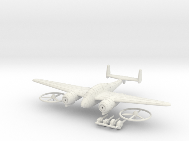 1/100 Breguet Br.693 in White Strong & Flexible