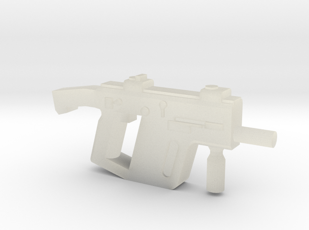 Super V SMG w Stock 3d printed