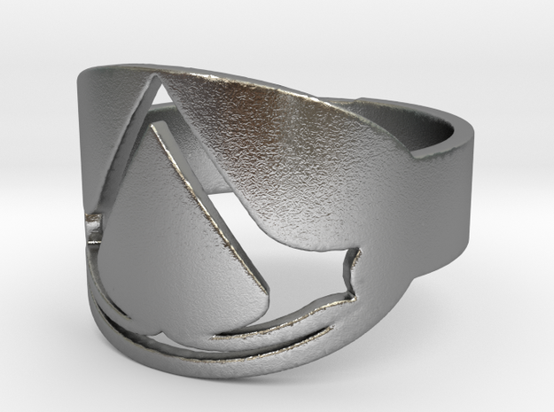 assassin's creed ring Ring Size 7 3d printed