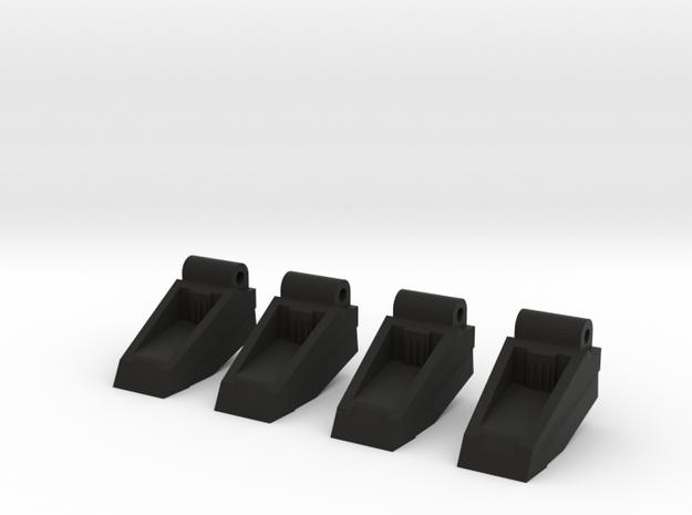 Classics seeker footplates- two sets 3d printed