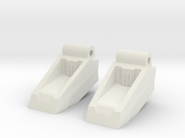 Classics seeker footplates 3d printed