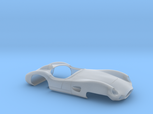 1/24 Aston Martin DBR1 in Smooth Fine Detail Plastic