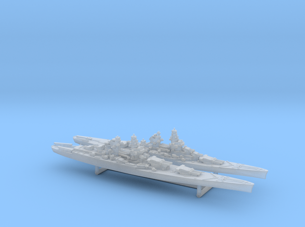 48FN02 French Navy Battleship Pack 2 in Frosted Ultra Detail