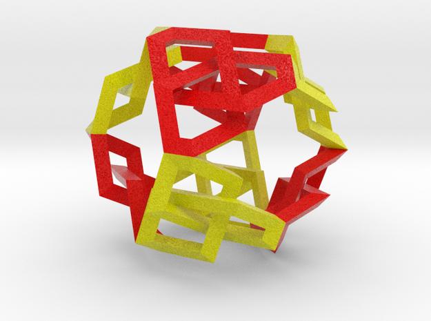 Octaknot 3d printed