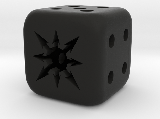 small chaos dice 3d printed