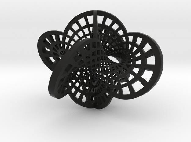 Round Klein Bottle 3d printed