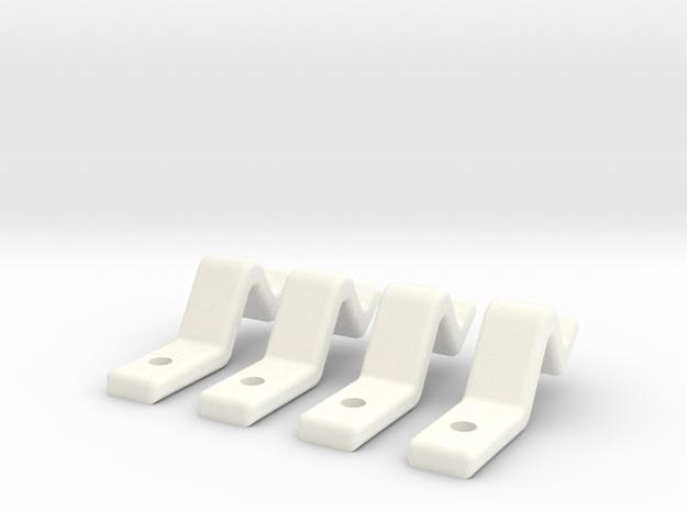 Door Clip Set (Sliding Doors) - Most Scales 3d printed