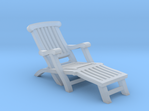 1:72 Titanic Deck Chair in Smooth Fine Detail Plastic
