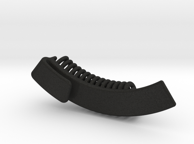 Curved Guitar Pick Holder 3d printed