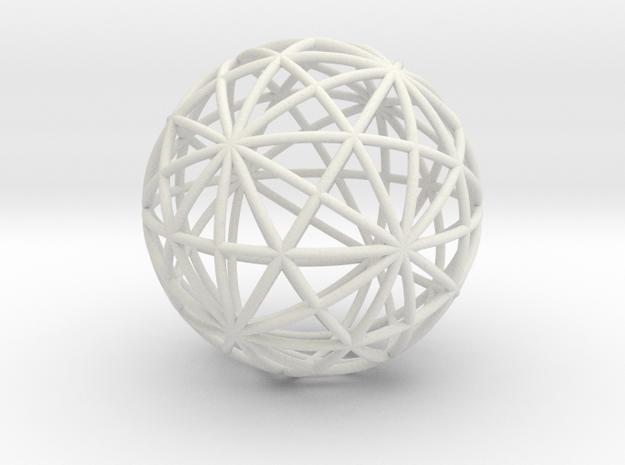 circlesb in White Natural Versatile Plastic