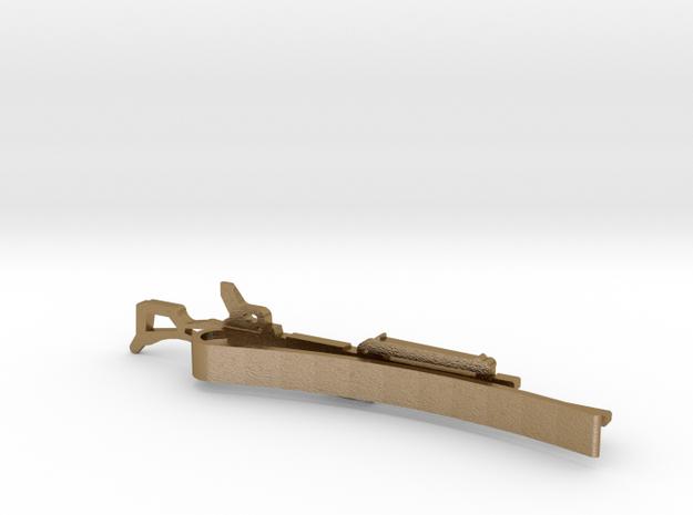M240B GUN MONEY/TIE CLIP 3d printed