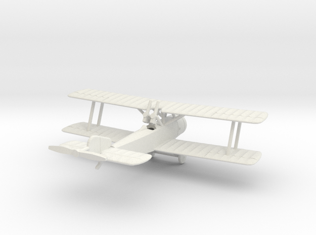 1/144 Sopwith 1 1/2 Strutter Comic in White Natural Versatile Plastic