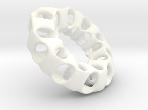 Porous Mobius torus - 3.2 cm 3d printed