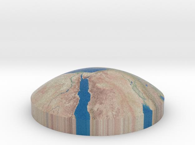 Omni globe mediterranean sea in Full Color Sandstone