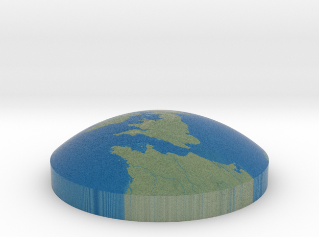 Omni globe United Kingdom in Full Color Sandstone