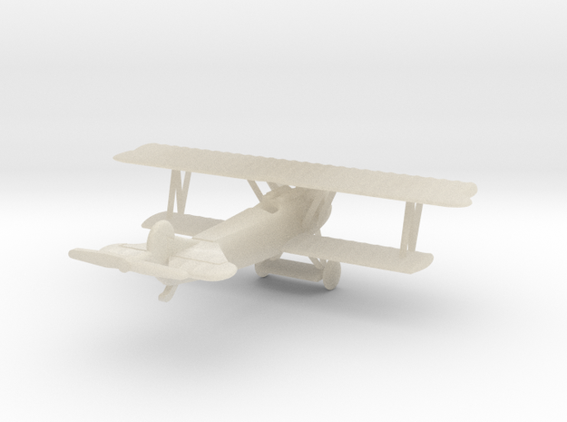 1/144 Fokker D.VII one-piece 3d printed