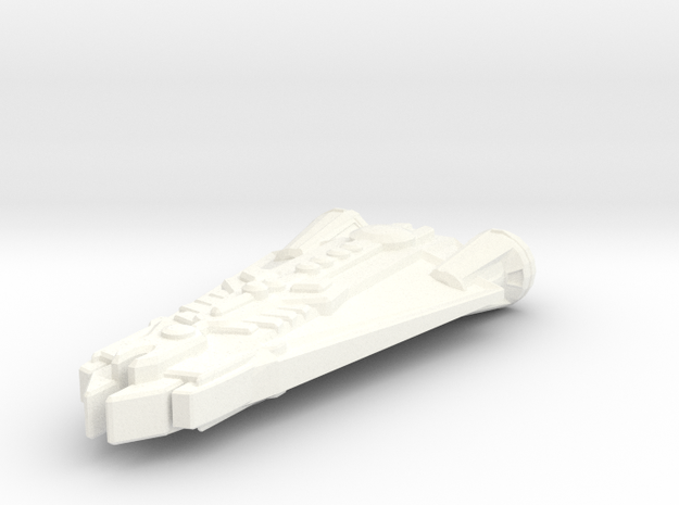 Freighter Beta One (Tolurians) 3d printed