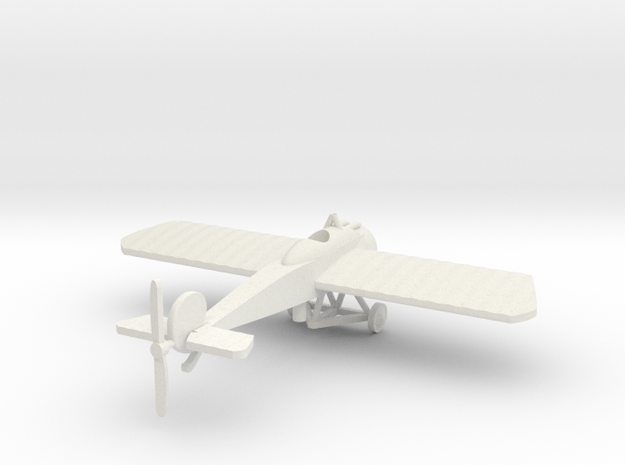 Fokker EIV 1/144th scale  in White Natural Versatile Plastic