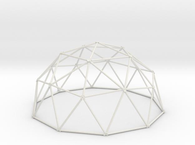 2V Dome - Medium in White Strong & Flexible