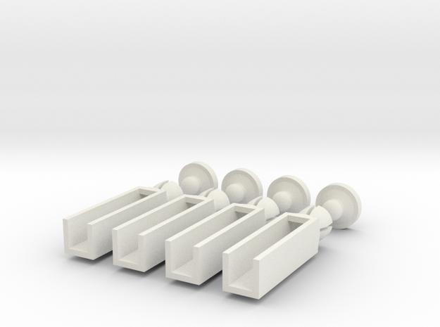 Karosseriehalter 4fach 3d printed