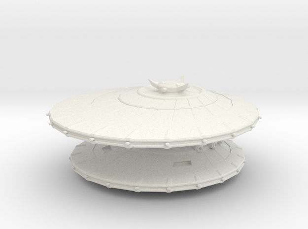 EU  Consortium Dragon battleship in White Natural Versatile Plastic