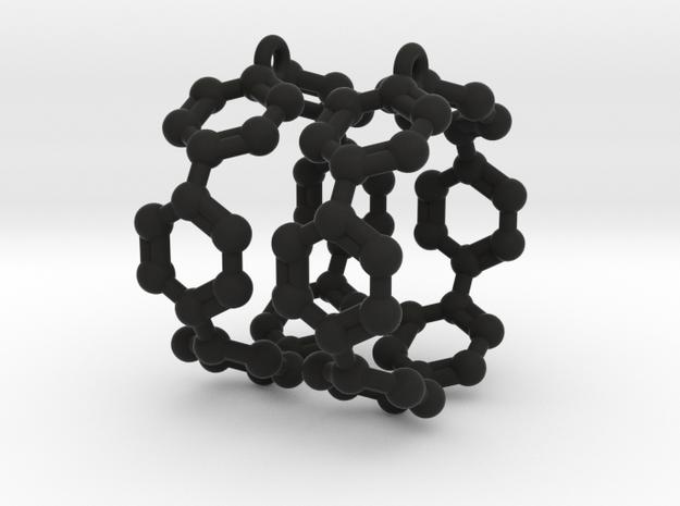 Earrings (Pair)- Molecule- Carbon Nanoring