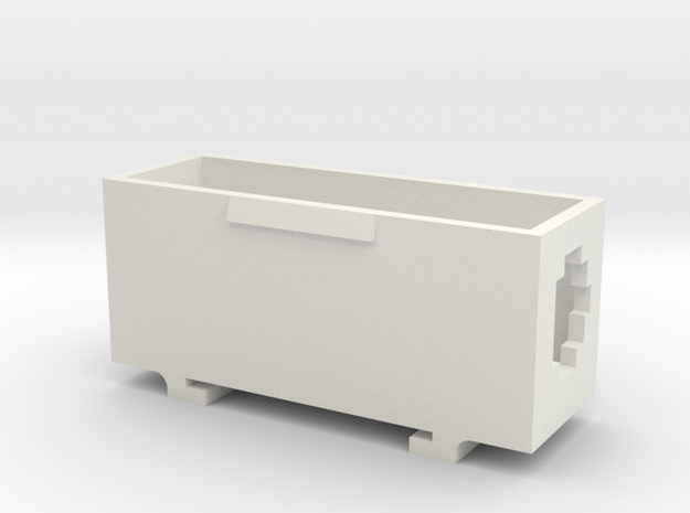 Boîte du contacteur in White Strong & Flexible