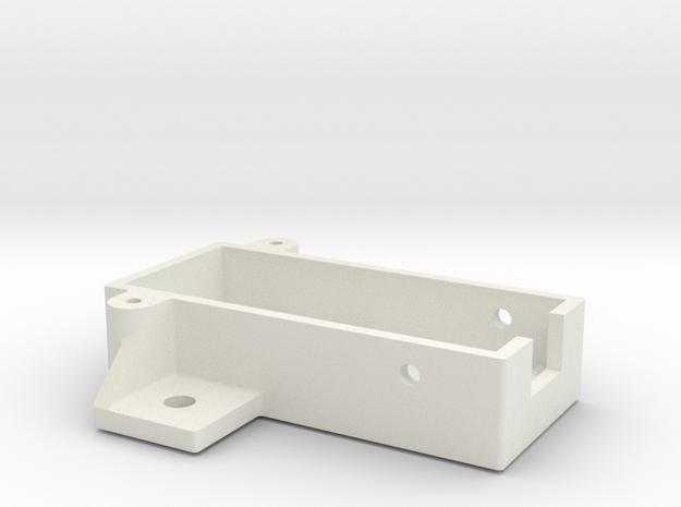 bodem prog kast in White Natural Versatile Plastic